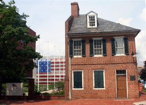 Flag House by The Spangled Banner Flag House