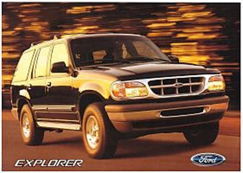 old car owners manuals 2001 ford explorer regenerative braking 1994 1997 ford explorer brochure