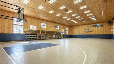 bedroom basketball court hoop dreams seven homes with indoor basketball courts