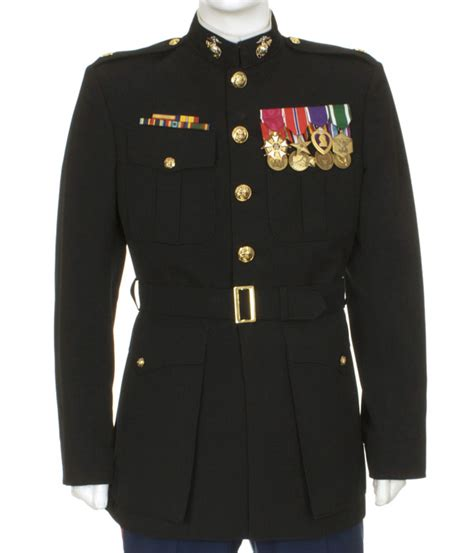 usmc officer blue dress a eastern costume a motion