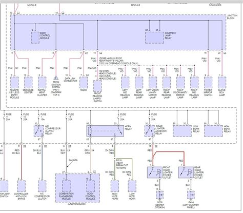 2000 dodge caravan fuse box diagram fuse box diagram electrical problem 6 cyl two wheel drive