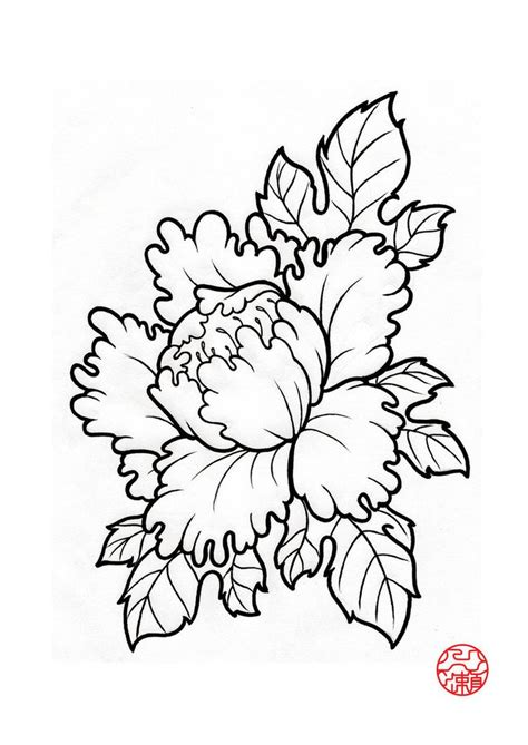 japanese flower tattoo design 25 best ideas about japanese peony on