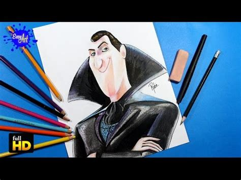 hotel transylvania 2 the game dracula youtube hotel transylvania 2 how to draw dracula como dibujar a