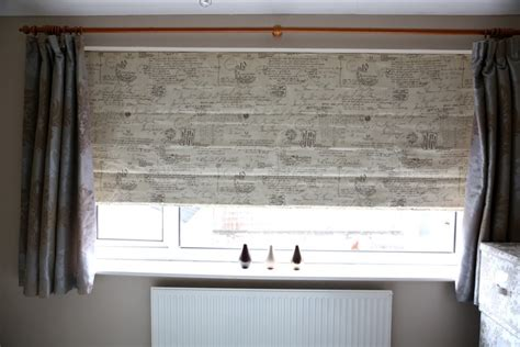 bedroom blinds and curtains how mary layered roman blinds and curtains in her bedroom