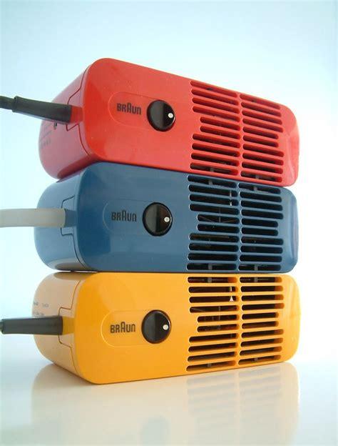 Braun Hair Dryer Products three braun hld 4 hair dryers designed by dieter rams in