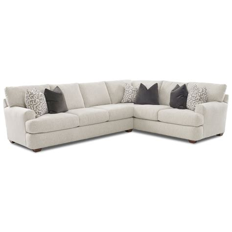 Raf Sofa Sectional by Two Sectional Sofa With Raf Corner Sofa By Klaussner