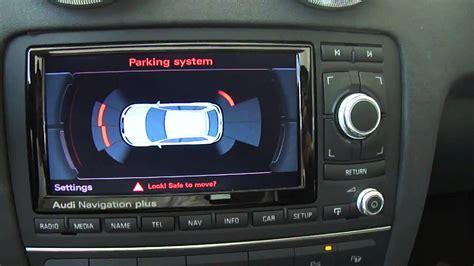 Audi Tt Rns E by Audi A3 8p Affichage Radar Sur Rns E
