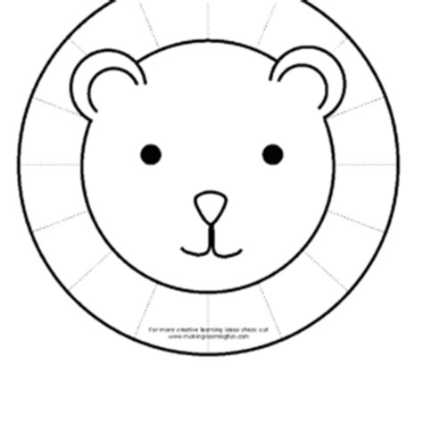 lions face coloring pages draw a cartoon lion coloring