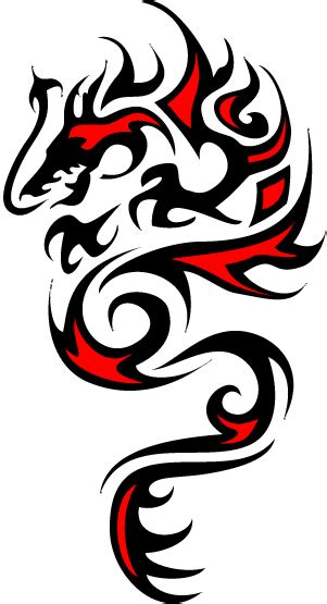 tribal dragon tattoos pictures tribal drawing