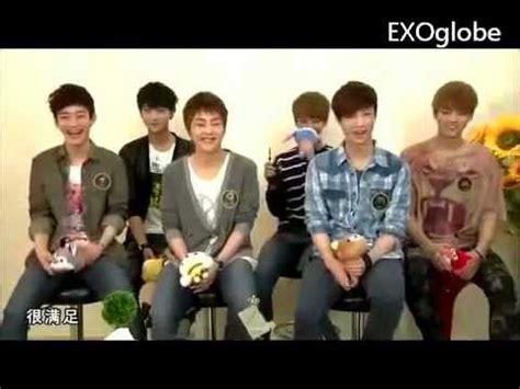 exo eng sub eng sub exo m funny moment 1 nicknames youtube