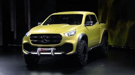 mercedes pickup truck previewing the new mercedes benz concept x class pickup