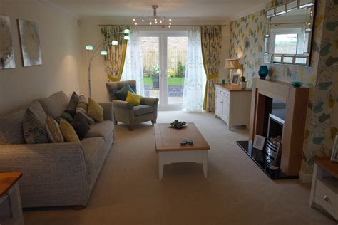 living room shows new show home now open at whins farm close high harrington