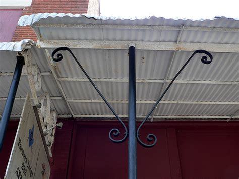 awning supports awning canopy marquise mesker brothers