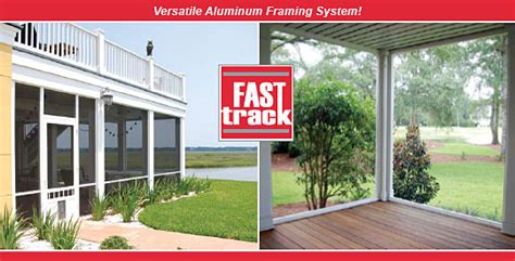 Patio Screening Systems by Fasttrack Porch Screening System From Screen Tight