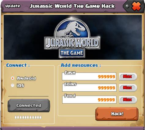 jurassic world the game hack cheat tool keygen hack free jurassic world the game hack cheats tool free hacks and