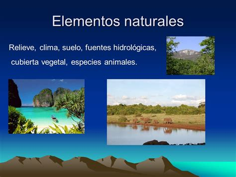 imagenes componentes naturales el espacio geogr 225 fico ppt video online descargar