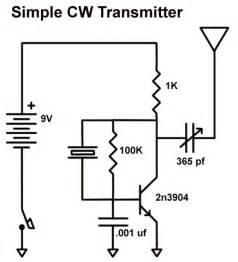 easy ten a simple 80 meter cw transmitter using a 2n3904