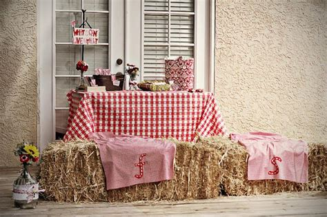 country style bridal shower decorations country chic bbq engagement celebrations in style