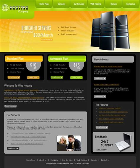 best templates for books websites best website templates