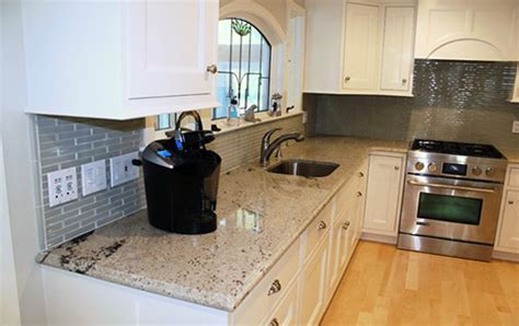 bianco romano granite with white cabinets bianco romano granite