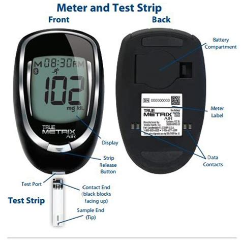 trividia true metrix air  monitoring blood glucose meter
