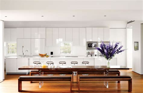 cuisine laquee blanche cuisine blanche laqu 233 e 99 exemples modernes et 233 l 233 gants