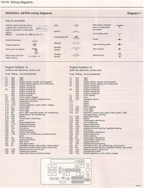 vauxhall astra rear lights wiring diagram wiring diagrams