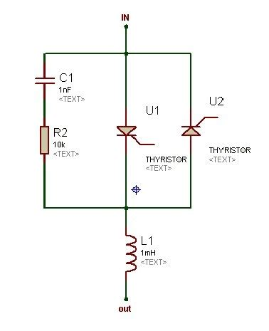 resistor capacitor snubber circuit how to design a snubber circuit