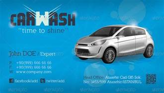 car wash business cards car wash business card template by grafilker graphicriver
