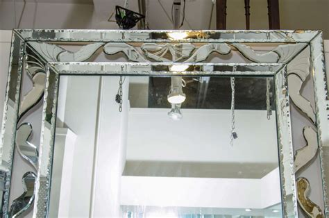 large decorative mirrors for walls midcentury large decorative venetian wall mirror at 1stdibs
