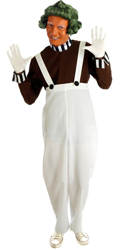 factory worker fancy dress costume umpa lumpa willy wonka