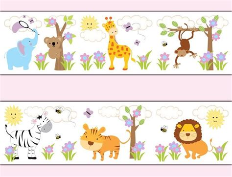baby bedroom borders wallpaper for baby girl nursery wallpapersafari