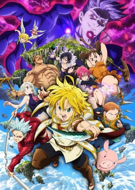 Anime 7 Deadly Sins Season 3 by The Seven Deadly Sins Season 3 Release Date On Netflix