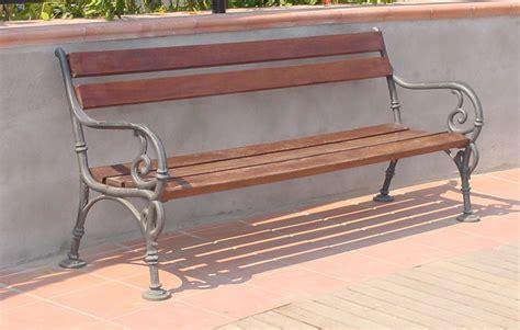 panchine per giardino panchina vienna per giardino e parco 4007 fonderia