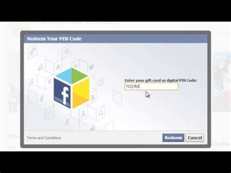 What Is Facebook Gift Card - full download free facebook credits 2015