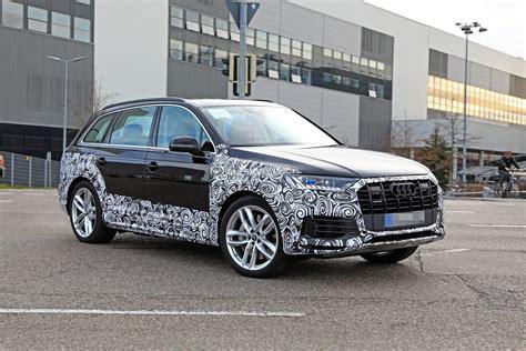 2019 Audi Q7 Facelift by 2020 Audi Q7 Facelift Spied Features Dual Screen