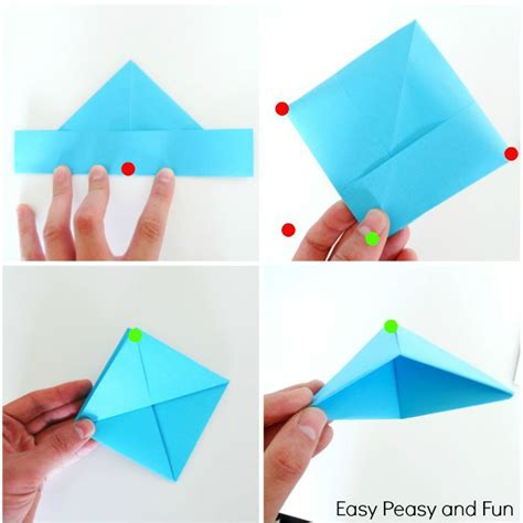 how to make a paper boat tutorial how to make a paper boat origami for kids origami