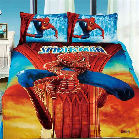 spiderman twin bed set spiderman full size comforter promotion shop for
