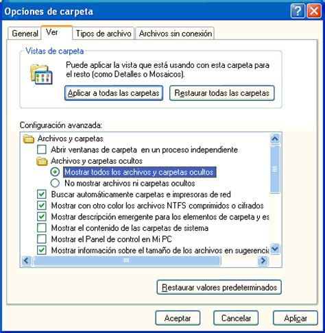 imagenes ocultas windows 7 trucos y soluciones inform 225 tica mayes mostrar y