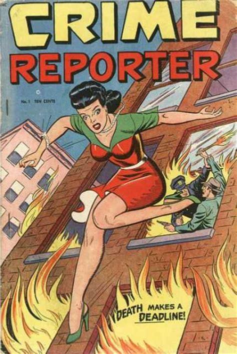 comic book reporter crime reporter volume comic vine