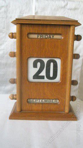 antique perpetual desk calendar antiques atlas 20th century perpetual wooden desk calendar