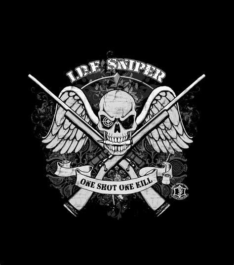 Spesial Kaos Print Umakuka Snipper idf sniper special forces shirt israeli t