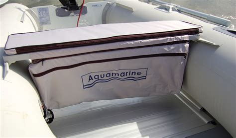 inflatable boat storage underseat stoarge bag with cushion for inflatable boat