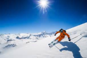 skiing in alps resort piste guides