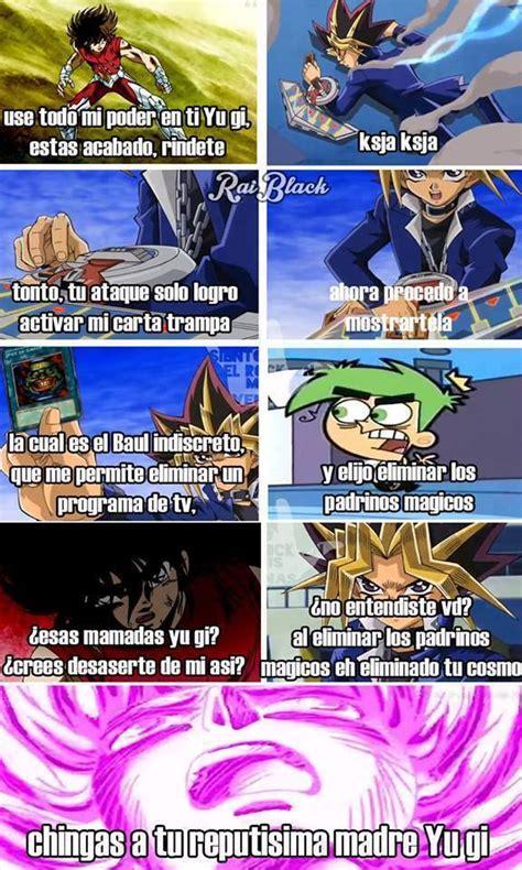 Yugi Memes - yugi quot tras locas quot moto memes taringa