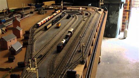 model train layout construction video  thomas