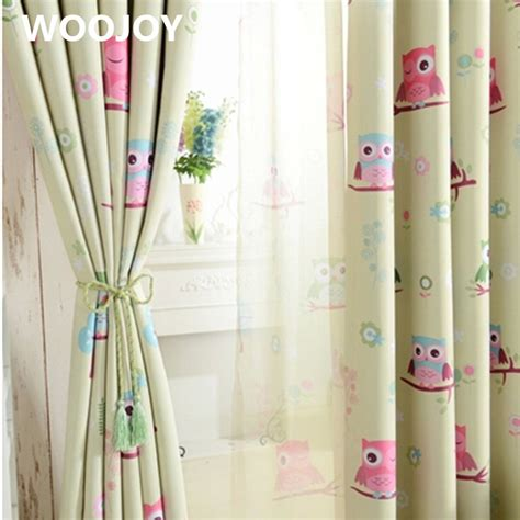 owl window curtains kids room curtains owl curtains for baby room window