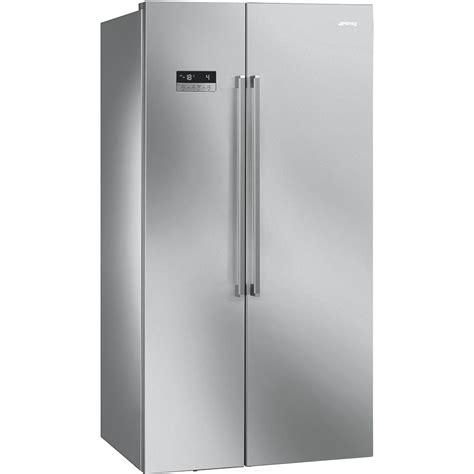cucine professionali smeg frigoriferi americani sbs63xe smeg it
