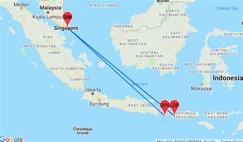 cheap full service flights  singapore  lombok