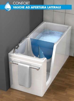vasca da bagno con apertura vasca con sportello e apertura laterale di remail